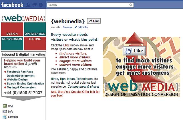 WebMedia Non-fan Page