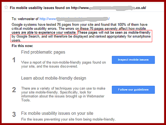 google-mobile-friendly-warning